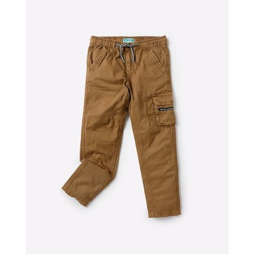 KB TEAM SPIRIT Mid-Rise Trousers with Insert Pockets