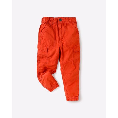 KB TEAM SPIRIT Slim Fit Cargo Pants with Elasticated Hems