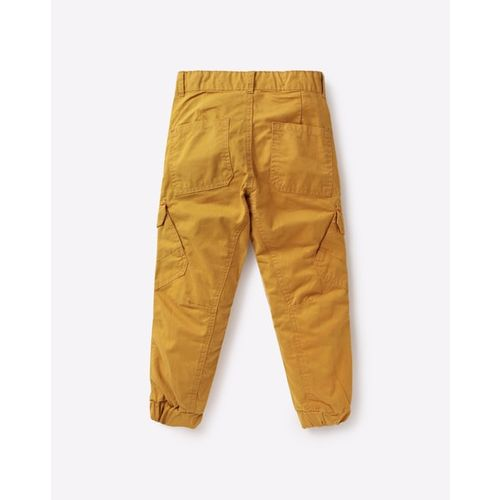 KB TEAM SPIRIT Slim Fit Cuffed Trousers with Cargo Pockets