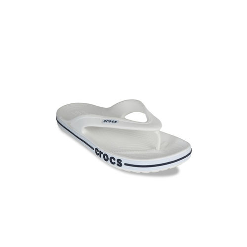 Crocs Men White Solid Thong Flip-Flops