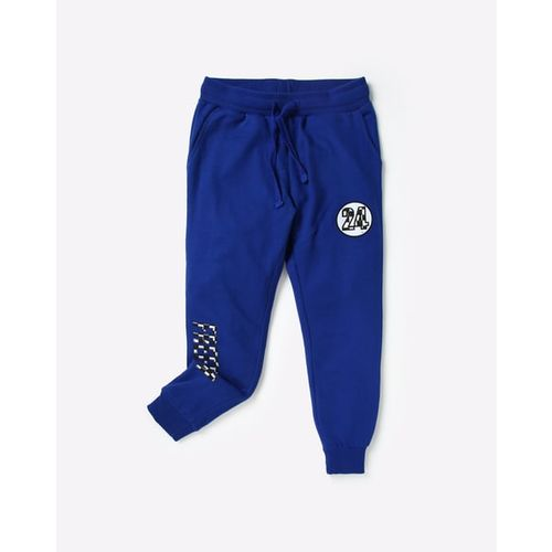 AJIO Mid-Rise Joggers with Insert Pockets