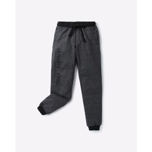 YB DNMX Heathered Mid-Rise Joggers with Insert Pockets
