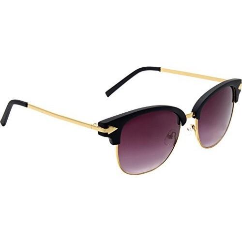 Audbury Black Wayfarer Sunglasses