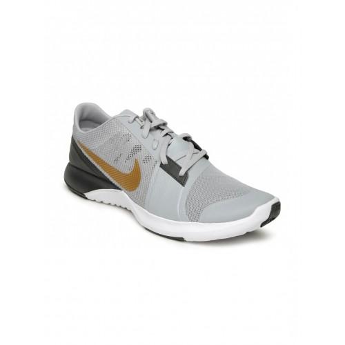 sale retailer 61858 fe010 ... Nike Men Grey FS Lite Trainer 3 Training Shoes ...