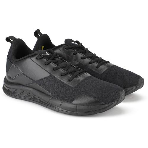 Puma Intersteller V2 IDP Running Shoes For Men(Black)