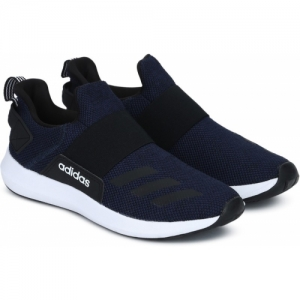 ADIDAS Blue And Black Running Shoes For Men