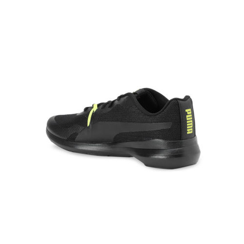 Puma Men Black Pacer Wave IDP Running Shoes
