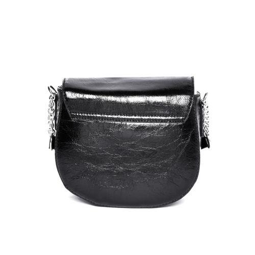 DressBerry Black Solid Sling Bag