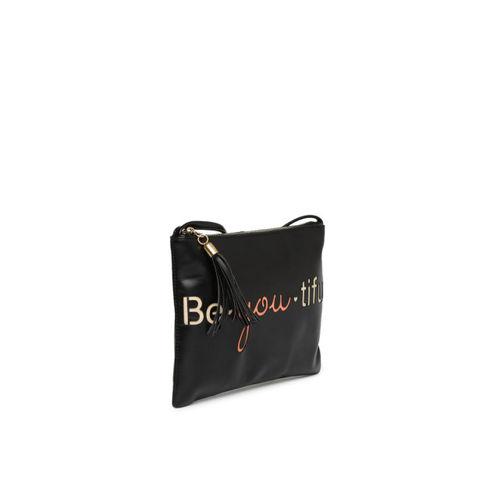 DressBerry Black Cut Out Detail Sling Bag