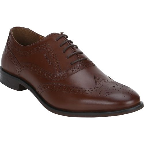Red Tape Leather Formal Brogue Brogues For Men(Brown)