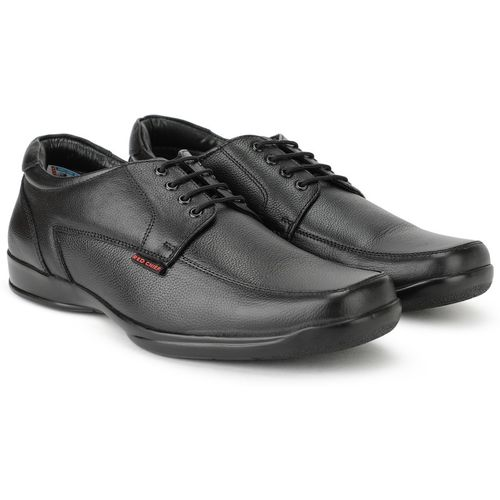 Red Chief RC3499 001 Lace Up For Men(Black)