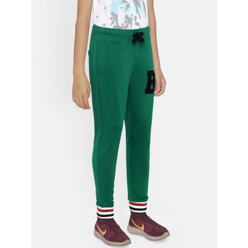 United Colors of Benetton Boys Green Joggers