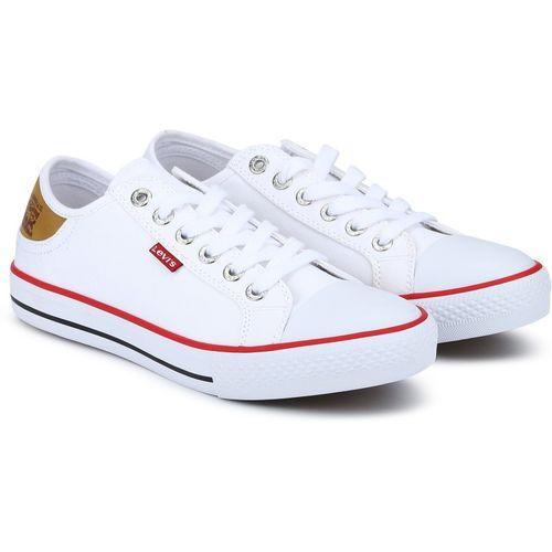 Buy Levi's Canvas Shoes For Men(White