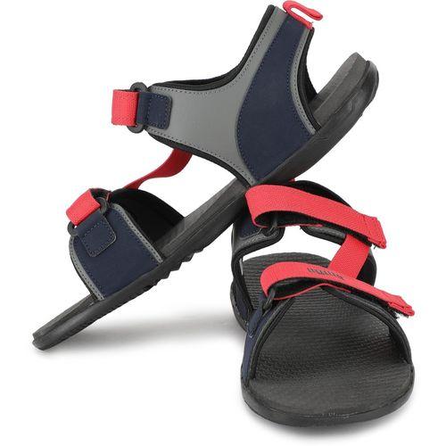 Puma Men Dark Shadow-High Risk Red Sports Sandals