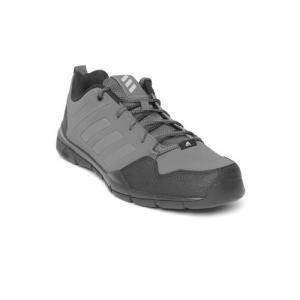 Buy Adidas Grey Mesh Running Shoes online | Looksgud.in