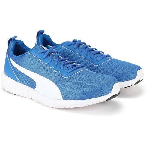 Puma Carson Club II Idp Running Shoes For Men(White, Blue)