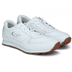 Woodland Badminton Shoes For Men(White)
