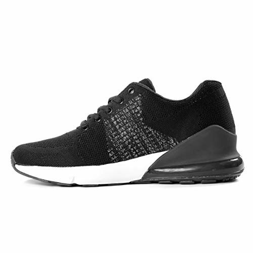 Bacca Bucci Men's Running Sports Trainers Shock Absorbing Sneaker for Walking Gym Jogging Fitness Athletic Casual
