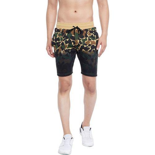 Fugazee Printed Men Multicolor Regular Shorts