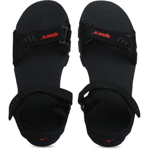 Sparx Men Black Black Sports Sandals
