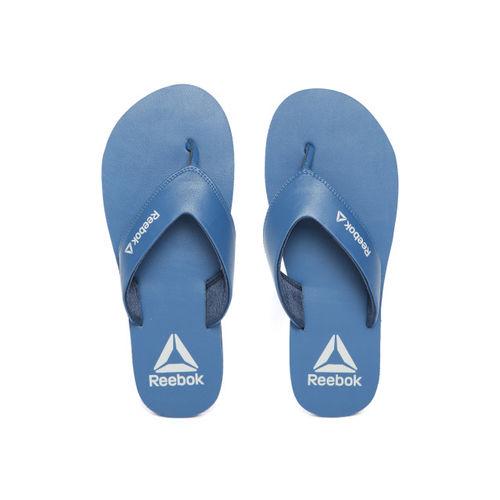 Reebok Men Navy Blue Solid Aerys Thong Flip-Flops DV8406