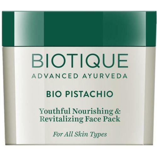 Biotique Bio Pistachio Youthful Nourishing and Revitalizing Face Pack(50 g)