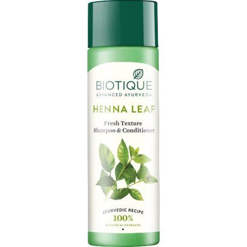 Biotique Botanicals Bio Henna Leaf Fresh Texture Shampoo & Conditioner(190 ml)