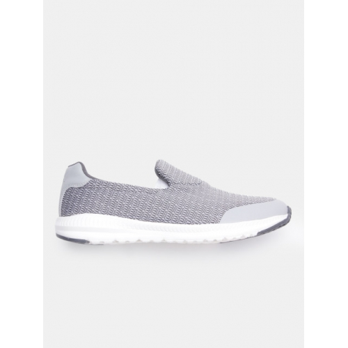 HRX by Hrithik Roshan Grey Synthetic Slip-On Sneakers