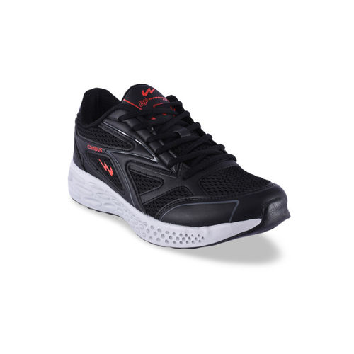 Campus Men Black Running Shoes