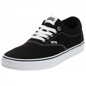 Vans Black Synthetic Lace Up Sneakers