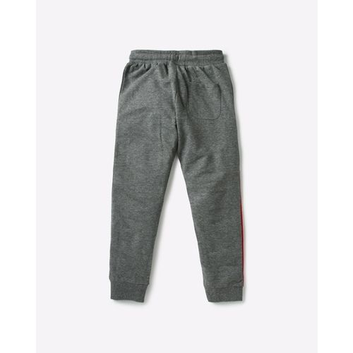 AJIO Panelled Joggers with Zip Pockets