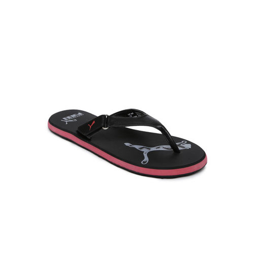 Puma Men Black Printed Sandals