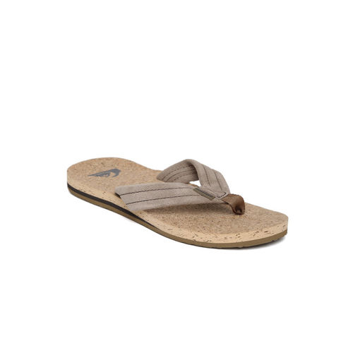 Quiksilver Men Brown Leather Sandals