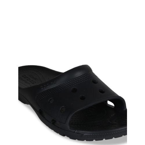 Crocs Men Black Solid Sliders