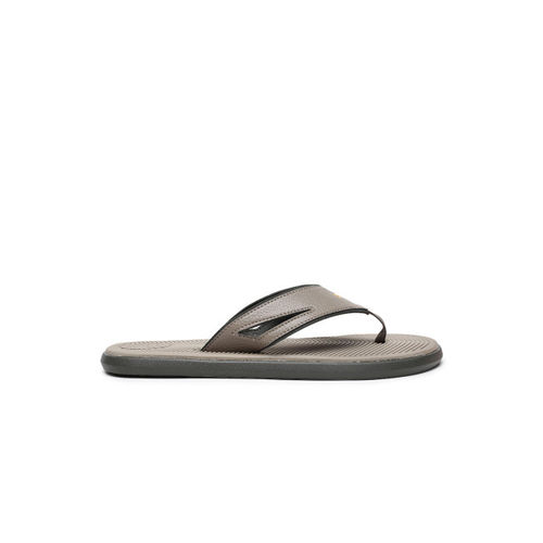 Puma Men Brown Solid Thong Flip Flops