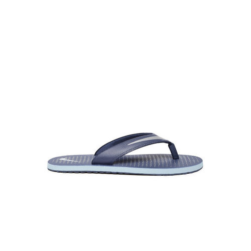 Nike Men Navy Chroma Thong 5 Flip-Flops