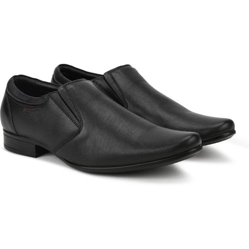 Red Chief RC3538 001 Slip On For Men(Black)