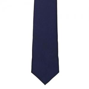Tossido Navy Slim Tie