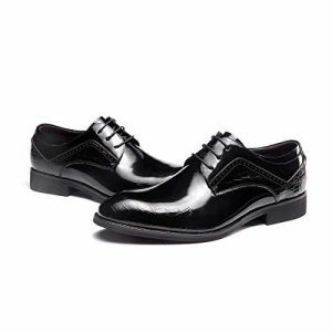 f68cbe7ef484f Aokang Patent 100% Pure Leather Business Class Formal Shoe for Men Lace Up  for Men