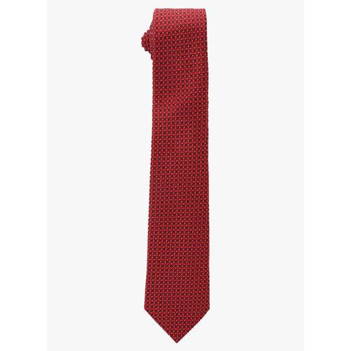 Park Avenue Maroon Woven Design Broad Tie