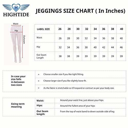 HIGHTIDE Women's Rayon Jeggings Highwaist