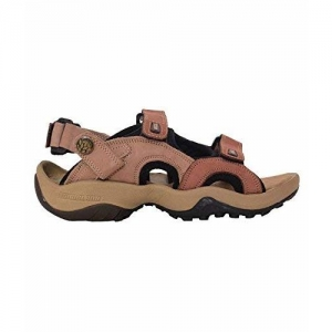 Woodland Men's Drust Nubuk Leather Sandals and Floaters