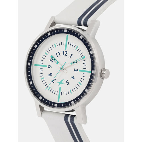 Fastrack Women White Analogue Watch 6172SL01
