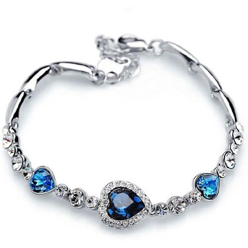 Shining Diva Crystal Cubic Zirconia Bracelet