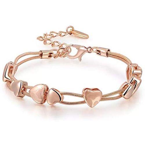 Shining Diva Alloy Cubic Zirconia Bracelet