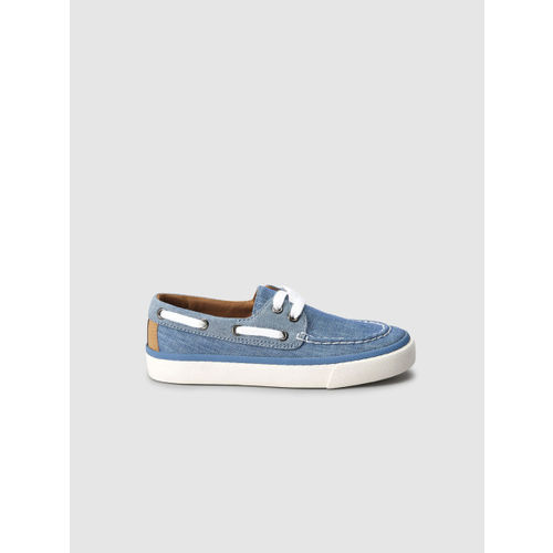 next Boys Blue Boat Shoes