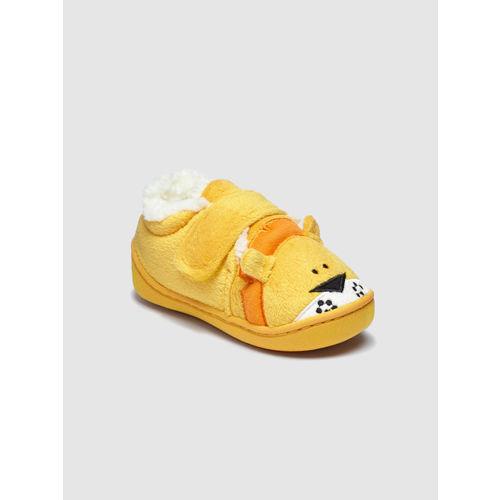 next Boys Yellow Slip-On Sneakers