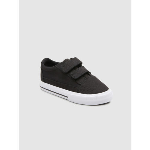 next Boys Black Sneakers