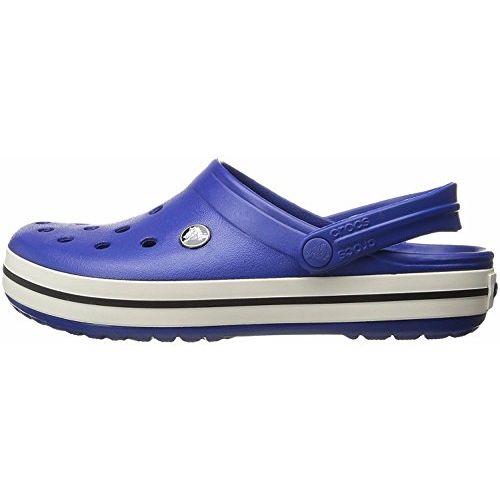 crocs Unisex's Crocband Blue Clogs-M5W7 (11016-4BE)