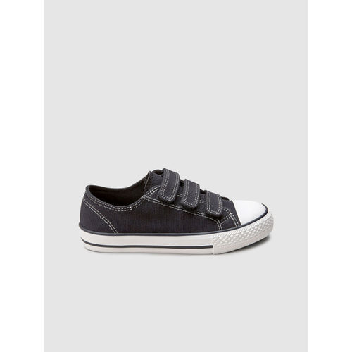 next Boys Black Sneakers